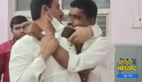 शिवसेना कार्यकर्त्यांचा पोलिस ठाण्यातच मद्यधुंद अवस्थेत राडा